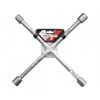 Ключ балонный крестовой усиленный 17 х 19 х 21 х 22 мм Yato YT-0800