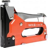 Степлер с регулятором для скоб 53 4-14 мм S 10-12 мм J 10-14 мм Yato YT-70020