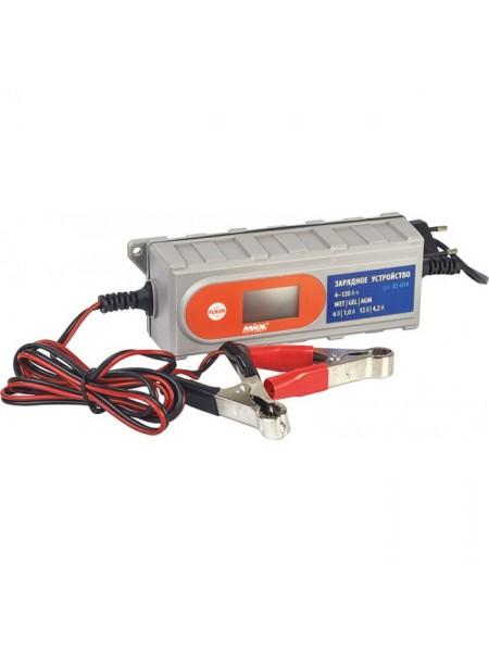 Зарядное устройство 1,0А / 4,2А 6V / 12V Miol 82-014