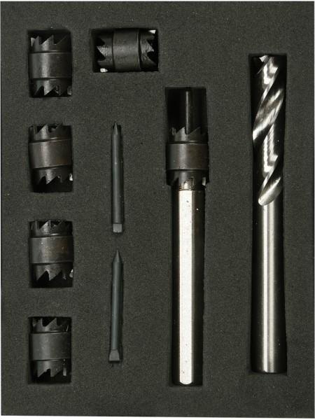 Набор для высверливания точечной сварки 9 шт Yato YT-28920