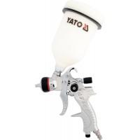 Краскопульт с верх. бач. HVLP 0,6 л-1,4 мм Yato YT-2340