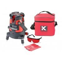 Уровень лазерный 875kr (В комплекте с очками, мишенью, мягкой сумкой) KAPRO Kapro