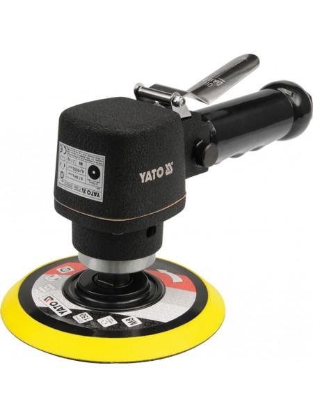 Орбитальная пневмошлифмашинка 150 мм Yato YT-0967
