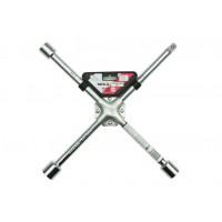 Ключ балонный крестовой усиленный 17 х 19 х 21 мм x 1/2 Yato YT-0801