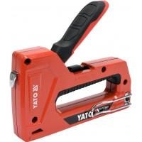 Универсальный степлер для скоб и гвоздей Yato YT-70021