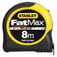 Рулетка измерительная FatMax Blade Armor магнитная L=8м, B=32мм, STANLEY FMHT0-33868