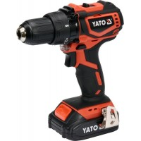 Двухскоростной аккумуляторный дрель шуруповёрт Yato YT-82794