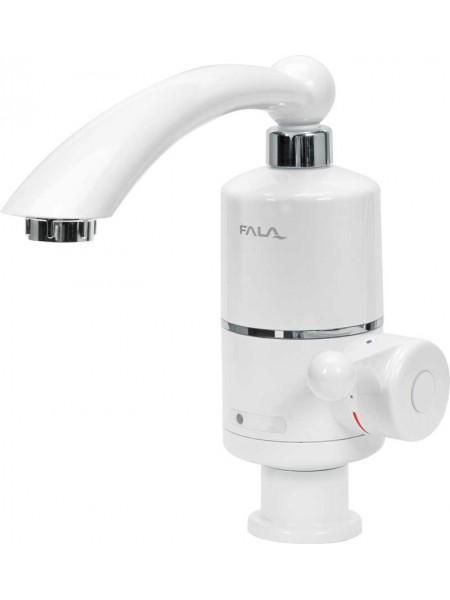 Кран-водонагреватель проточный для кухни FALA до 60 ° С, 3кВт, давление 0,04-0,6MPa, гусь l = 20 см, нижнее подключение