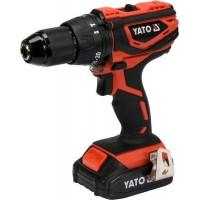 Двухскоростной аккумуляторный ударный шуруповёрт Yato YT-82788