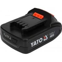 Аккумулятор Li-Ion 18 В 2 Ач Yato YT-82842