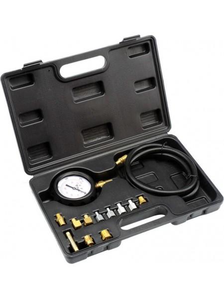 Профессиональный тестер измерения давления масла с адаптерами 12 шт Yato YT-73030