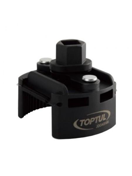 Съемник масляного фильтра универсальный 80-115 мм TOPTUL JDCA0112