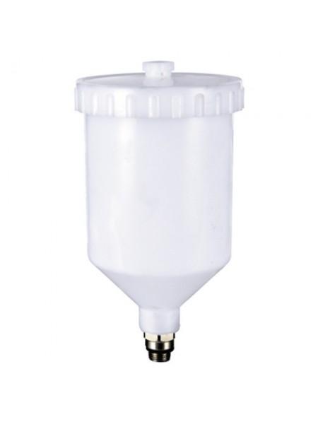 Бачок пластиковый (наружная резьба 3/8*1.337) 600 мл  ITALCO  PC-600D