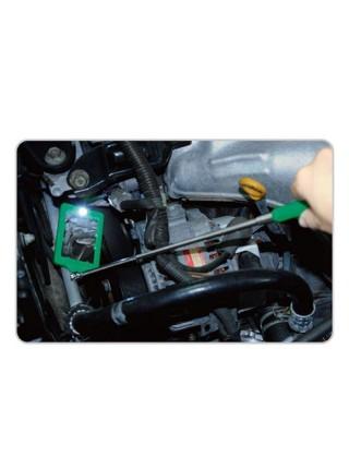 Зеркало для досмотра автомобиля TOPTUL 44х66 мм, 275-965 мм JJAM0397
