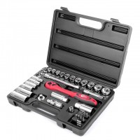Профессиональный набор инструмента 3/8 дюйма 39 ед. Intertool ET-6039