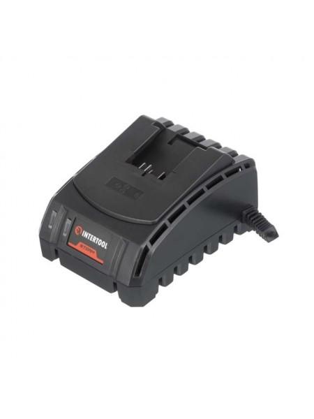 Устройство зарядное для аккумуляторов литий-ион 20 В, ток заряда 2.0 А INTERTOOL WT-0344