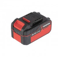 Аккумулятор 20 В, литий-ион, 4.0 Ач, индикатор уровня заряда INTERTOOL WT-0341