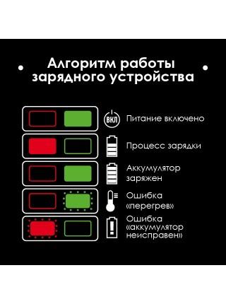 """Гайковерт ударный аккумуляторный с бесщеточным двигателем 20 В, 300 Нм, 0-2500 об/мин, 0-3000 уд/мин, 1/2"""", литий-ион, 2.0 Ач, ЗУ 2А, кейс INTERTOOL WT-0364"""