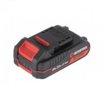 Аккумулятор 20 В, литий-ион, 2.0 Ач, индикатор уровня заряда INTERTOOL WT-0340