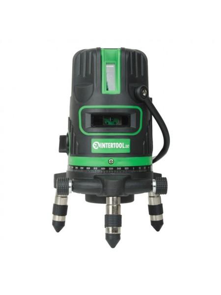 Уровень лазерный  5 головок, зелёный луч MT-3008