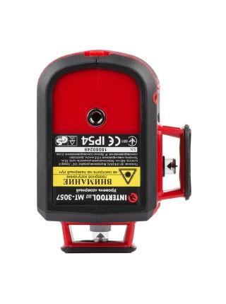 Уровень лазерный 2D Intertool MT-3057