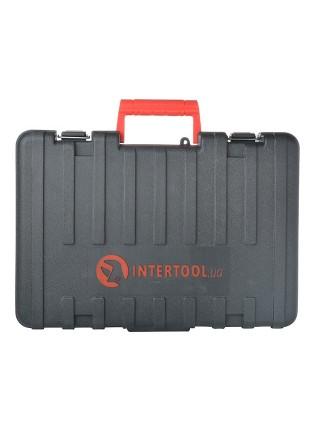 Перфоратор SDS plus 1000 Вт, 0-1300 об/мин, 0-5100 уд/мин, max 28 мм INTERTOOL DT-0185