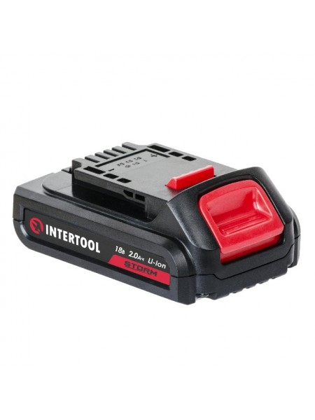 Аккумулятор Li-Ion 18 В 2.0 Ач для дрели-шуруповерта WT-0328/WT-0331 INTERTOOL WT-0332