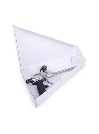 Пистолет для пены с тефлоновым покрытием держателя баллона+4нас, INTERTOOL PT-0604
