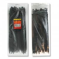 Хомут пластиковый 7,6x350 мм, (100 шт/упак), черный INTERTOOL TC-7636