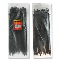 Хомут пластиковый 4,8x400 мм, (100 шт/упак), черный INTERTOOL TC-4841