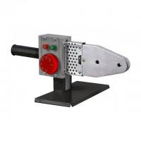 Паяльник для пластиковых труб, 850 Вт, 0-300°C, насадки 20, 25, 32, 40, 50, 63 мм, металлический кейс INTERTOOL RT-2111