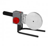 Паяльник для пластиковых труб, 1500 Вт, 0-300°C, насадки 75, 90, 110 мм, металлический кейс INTERTOOL RT-2113