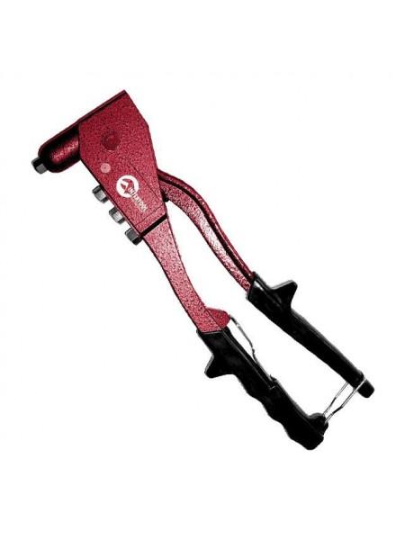 Пистолет заклепочный ручной цельностальной, диаметр заклепки 3,2; 4; 4,8 мм INTERTOOL RT-0010