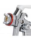Краскопульт пневматический HVLP II профессиональный, форсунка 1.4мм, верхний пластиковый бачок 600 мл., 2бар INTERTOOL PT-0100