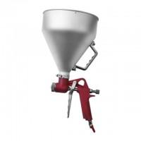 Штукатурный распылитель три форсунки 4;6;8мм металлический бак 6000мл, 3-6b, Intertool PT-0401
