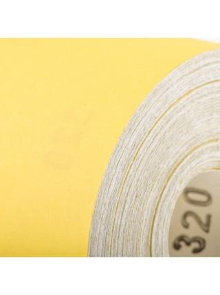 Шлифовальная шкурка на бумажной основе К320, 115мм*50м. INTERTOOL BT-0826
