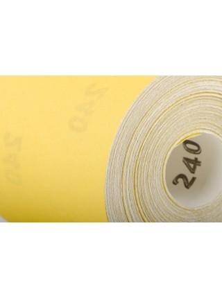 Шлифовальная шкурка на бумажной основе К240, 115мм*50м. INTERTOOL BT-0825