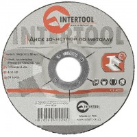 Диск зачистной по металлу 125x6x22,2 мм INTERTOOL CT-4022