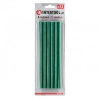 Комплект зеленых клеевых стержней 11.2мм*200мм, 12шт. INTERTOOL RT-1057