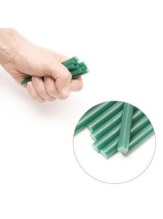 Комплект зеленых клеевых стержней 7.4мм*100мм, 12шт. INTERTOOL RT-1058