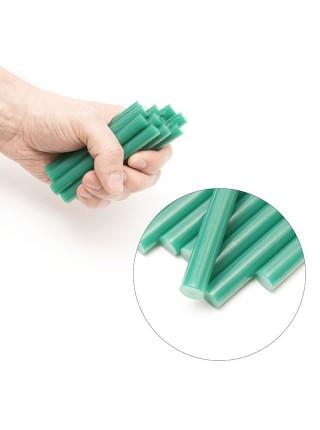 Комплект зеленых клеевых стержней 11.2мм*100мм, 12шт. INTERTOOL RT-1056