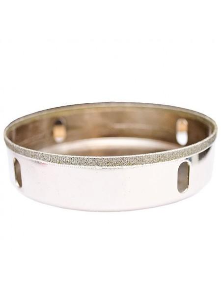 Сверло алмазное трубчатое по стеклу и керамике 120 мм INTERTOOL SD-0380