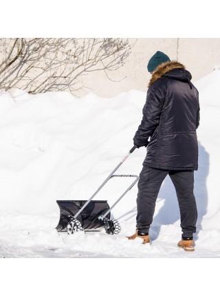 Ковш для уборки снега на колесах 660*320 мм, ручка 1080 мм INTERTOOL FT-2095