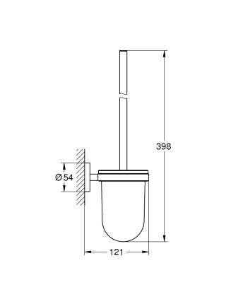 Ершик для унитаза Grohe Essentials 40374001