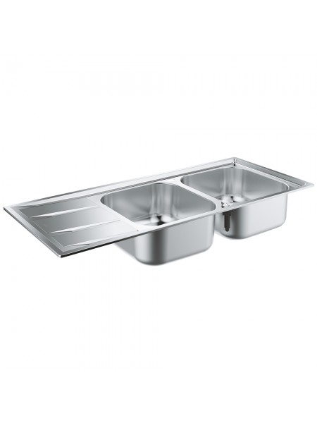 Кухонная мойка GroheEXSinkK400 двойная с крылом 31587SD0