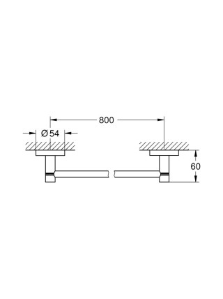 Полотенцедержатель Grohe Essentials40386001