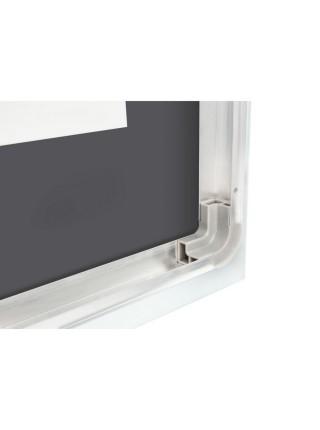 Зеркало Qtap Mideya с антизапотеванием 1000х600 QT2078F615W