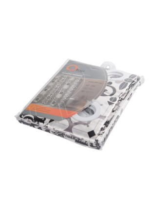 Шторка для ванной Q-tap Tessoro PA85655 200х200
