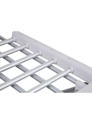 Сушилка для белья электрическая Q-tap Breeze (SIL) 57702 с терморегулятором