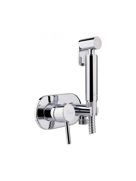 Набор для гигиенического душа Q-tap Inspai-Varius V00440501 CRM скрытого монтажа